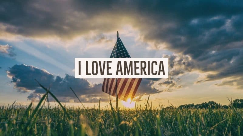 Jack Hyles Poetry- I Love America