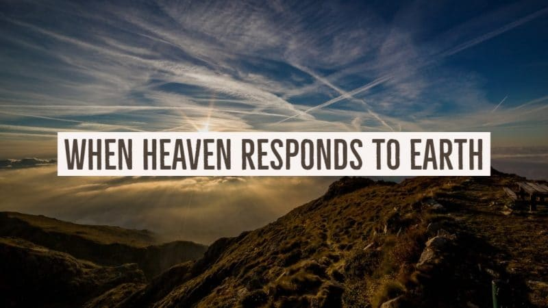 Jack Hyles Poetry- When Heaven Responds To Earth